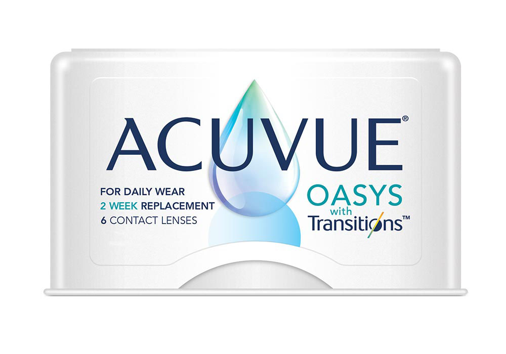 ACUVUE OASYS WITH TRANSITIONS (6 Pack)